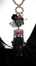 BETSEY JOHNSON CREEP SHOW LONG  SKELETON SKULL GIRL
