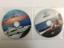 FERRETTI SUPERYACHT Double DVD Set - Boat Yacht Megayacht Sunseeker powerboat
