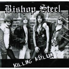 BISHOP STEEL Killing Asylum CD ( o18a ) 80ties US-Metal 162245
