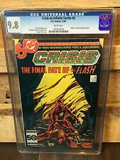 CRISIS ON INFINITE EARTHS #8 CGC 9.8 NM/MT DEATH OF THE FLASH  (ID 6802)