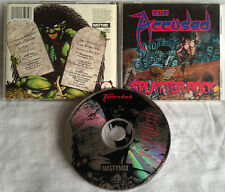 The Accused - Splatter Rock CD ORG NASTYMIX final conflict broken bones fartz