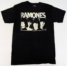 RAMONES SKETCH T-shirt Vintage NYC Punk Rock Band Tee Adult X-Large XL Black New