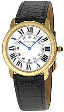 W6700455 | CARTIER RONDE SOLO | BRAND NEW & AUTHENTIC MENS GOLD & STEEL WATCH