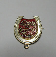 Vintage Clarks lucky two shoe club League of Foot Freedom  badge fattorini
