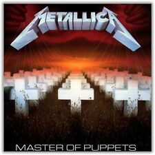 Metallica - Master Of Puppets LP [Vinyl New] Album (2014 Blackened)