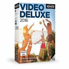 MAGIX Video deluxe 2016 - NEU & OVP