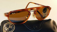 VINTAGE B&L RAY BAN PREMIER COMBO B W1375 B15 TORTOISE TRADITIONALS SUNGLASSES