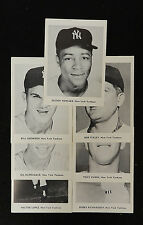 (7)  1960s NEW YORK YANKEES PICTURE PACK TEAM LOT