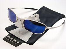 Oakley Square Wire 2.0 Silver Ice occhiali da sole WIRETAP diagrammi Inmate Half Taper