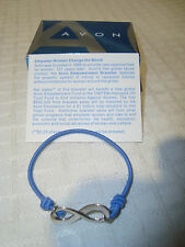Avon Blue Stretchy Empowerment Bracelet Small NEW