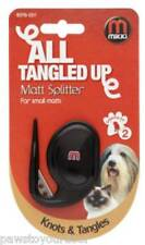 Mikki dog cat puppy pet matt splitter fur grooming tool for knots & tangles