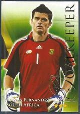 FUTERA 2010 WORLD FOOTBALL-SERIES 2- #418-SOUTH AFRICA-ROWEN FERNANDEZ