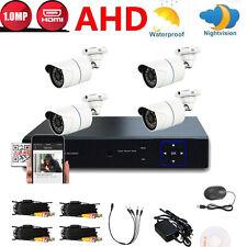 720P CCTV 8CH AHD HDMI DVR 1300TVL 1.0MP Outdoor Home Security Camera System