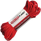 Imperial Red 100' 550 Paracord Mil Spec Type III 7 Strand Parachute Cord 100 ft