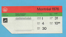 Orig.Ticket   Olympische Spiele MONTREAL 1976 // KANU - 31.07.(5 Final`s) !! TOP