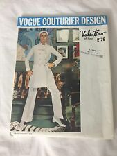 Vogue Couturier Valentino Misses Dress Jacket Top Pants Pattern Sz 12 #2176