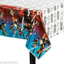 STAR WARS Rebels PLASTIC TABLE COVER ~ Birthday Party Supplies Decorations Cloth