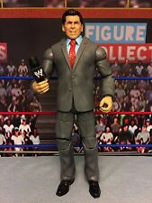 WWE Wrestling Mattel Elite Custom Vince McMahon Figure Custom