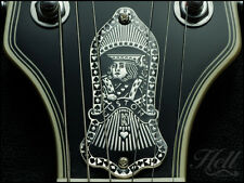 KING of HEARTS Brass Truss Rod Cover. Fits most Gibson, Les Paul, SG and others.