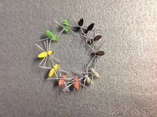 12 fly fishing foam spiders assortment # 12 hooks Flies poppers panfish bluegill