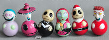 1set 6pcs nightmare before Christmas jack Tumbler kids lovely toy gifts 3cm