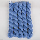 *250g *MERINO WOOL MIX* 4-Ply.Blue.Sky. fingering.yarn.knitting.new.lace.weight
