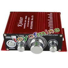12V 2 CH Mini Digital Audio Amplificatore AMP Per HiFi MP3 Auto Nuova
