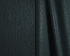 Ostrich - Black, Vinyl Leatherette fabric for auto and interior upholstery use