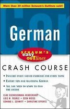Schaum's Easy Outline of German (Schaum's Easy Outlines), Elke Gschossmann-Hende