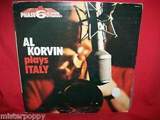 Vedette Phase 6 AL KORVIN plays Italy LP 1973 ITALY VG+