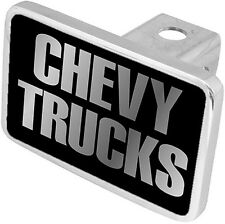 New Chevy Trucks Mirrored Word Tow Hitch Cover Plug