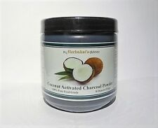 Coconut Activated Charcoal Powder, 8 Oz. 100 % Pure Food Grade, Extra Fine.