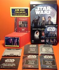 Topps Star Wars ROGUE ONE MISSION BRIEFING - Base Set + 6 Chase Sets 162 Cards