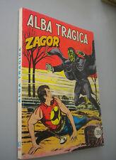 """ZAGOR SCRITTA ROSSA L.350 N° 87 """"ALBA TRAGICA"""" BUONO"""