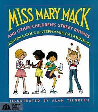 Miss Mary Mack and Other Children's Street Rhymes-ExLibrary