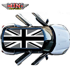 Union Jack Black Whole Car Roof Decoration Sticker For All Mini Cooper