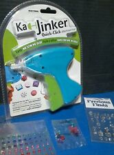 CRAFT TOOL : Ka Jinker Quick Click Attachment Tool + Extras Adhesive Gems Bling