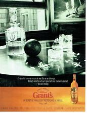 PUBLICITE ADVERTISING 126  1998    whisky Grant's   family  reserve 2