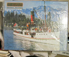 TSS Earnslaw Queenstown New Zealand Puzzle Lake Wakatipu