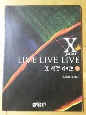 X JAPAN - LIVE LIVE LIVE VOL.2 - BAND SCORE(TAB & SONGBOOK)