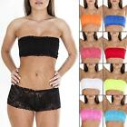 New Womens Ladies Sexy French Lace Sexy Boobtube Bra Bandeau Top Size S M L XL