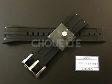 Citizen 26mm Black Rubber Watch Band for Promaster BJ2135-00E, B741-S065551
