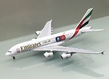 Gemini Jets 1/400 Emirates Airbus A380-800 FA Cup A6-EER die cast metal model