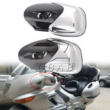 Chrome Motorcycle Rearview Side Mirrors For BMW K1200 LT K1200M 1999-2008 2000