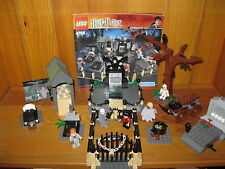 Rare Lego Harry Potter Set 4766 The Graveyard Duel Complete with Instructions