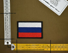 Patch ricamata Russia Flag Bandiera embroidered special forces spetsnaz alpha