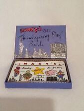 """Macy's Thanksgiving Day Parade 2013 6.25"""" X 4.2"""" Ceramic Tray"""