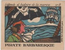 IMAGE PUBLICITAIRE PHOSPHATINE FALIERES ASNIERES-PIRATE BARBARESQUE/MARINE N°8
