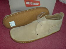 CLARKS ORIGINAL MEN ** DESERT RAIN BOOTS ** SAND SUEDE **  UK 10.5 / true 11
