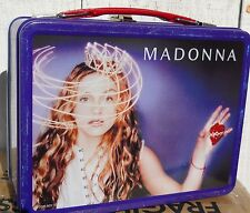 NEW MADONNA FULL SIZE METAL LUNCH BOX  NO THERMOS  MADE BY NECA